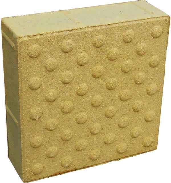 Купить тротуарную плитку Конусообразная тактильная плитка 500х500. Цена от 200 рублей за штуку от «Плитка №1».